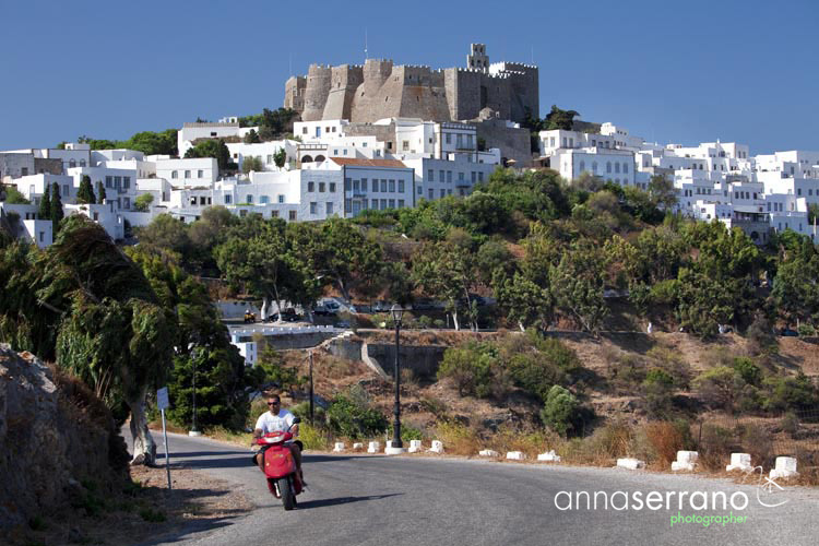 Greece, Greek Islands, Dodecanese, Patmos, Chora