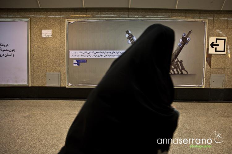 Iran, Middle East, Tehran, Tehran Metro