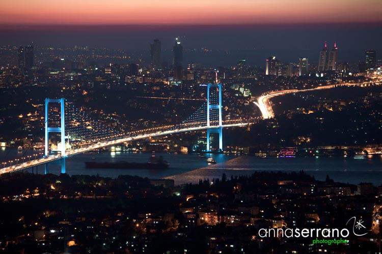 Turkey; Marmara Region; Istanbul; Bosphorus Bridge