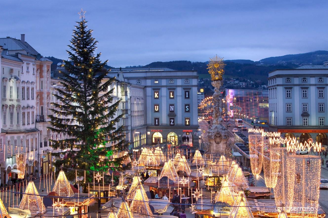 Austria, Upper Austria, Linz, Christmas