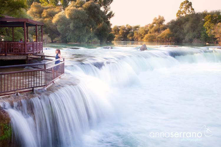 Turkey, Mediterranean Region, Antalya, Manavgat, Manavgat Waterfalls