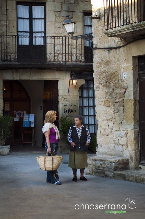 Catalonia, Girona Province, Costa Brava, Peratallada