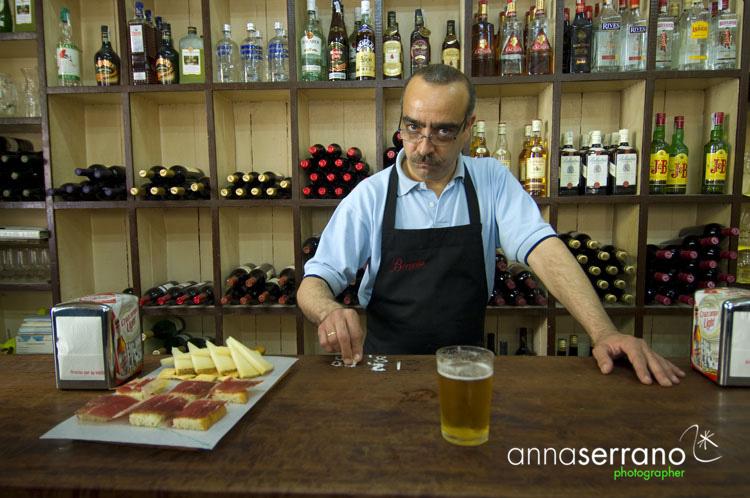 Bar Bodega Morales - Barrio de Santa Cruz - Sevilla