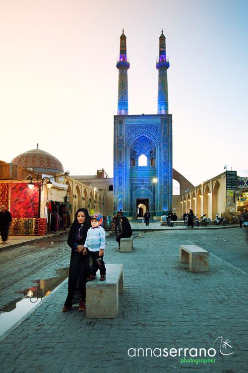 Iran, Yazd Province, Yazd, Jameh Mosque