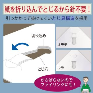 Häftapparat utan häftklamrar