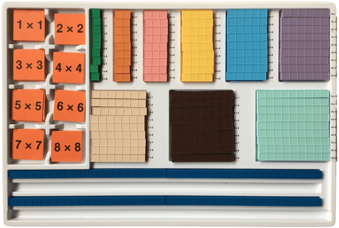 Mortensen More Than Math Multiplication Facts Tray