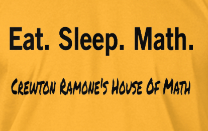 Crewton Ramone's House of Math