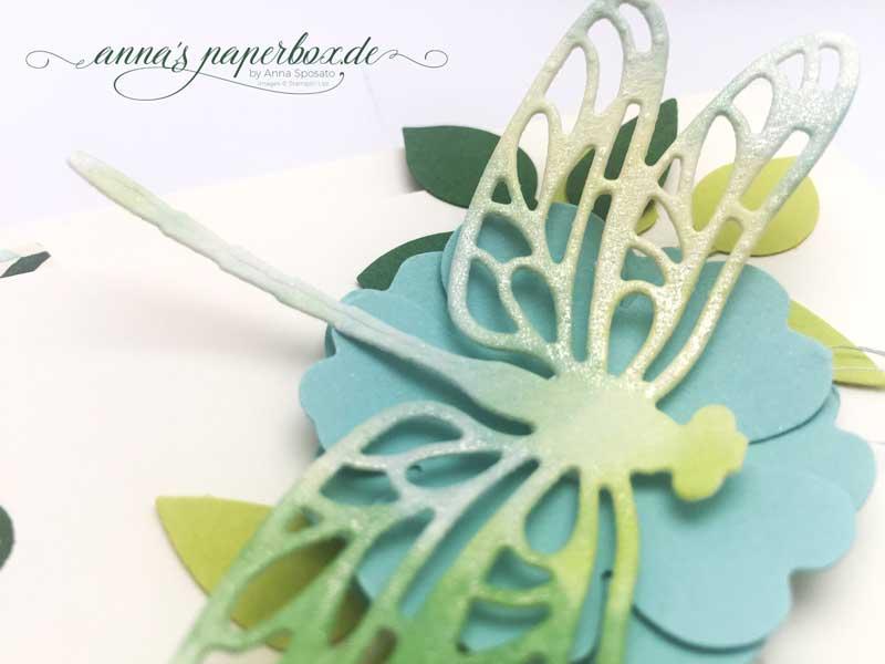 Inspire Create. Geburtstagskarte mit Produkten von Stampin Up.