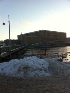 Det är vackert i Stockholm idag, och Livrustkammaren är väl värt ett besök