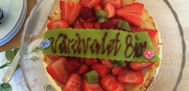 Tårta vårdvalet 8 år