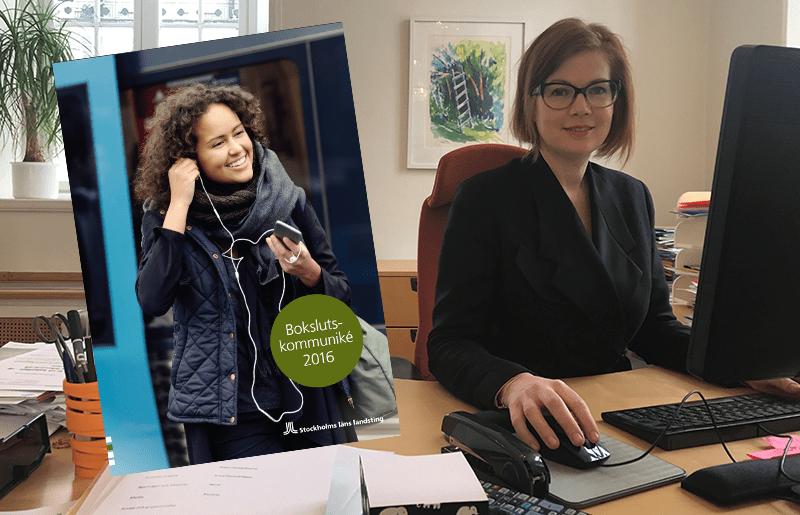 Anna Starbrink, Liberalerna, och landstingets bokslut 2016
