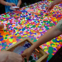 Polka dots event, end of year school party idea