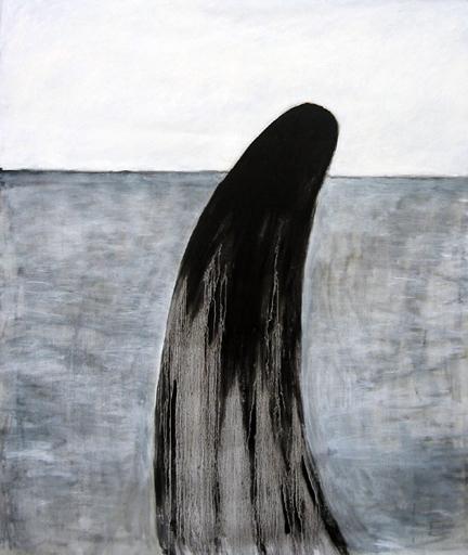 Sorrow, målning av Anna Stina Rehnström. Oil on canvas
