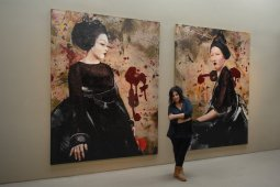 Λίτα Καμπεγούτ : Μια λέαινα της ζωγραφικής από βελούδο