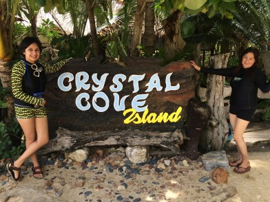 Sight-Seeing and Coving at Crystal Cove Island