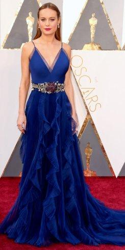 Brie Larson, abito Gucci