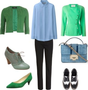 Dressed for work di annaturcato contenente leather handbags