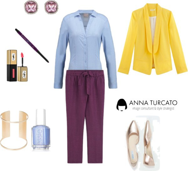 Everyday look di annaturcato contenente chino pants