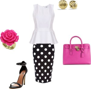 How to:the pencil skirt by annaturcato featuring a white top