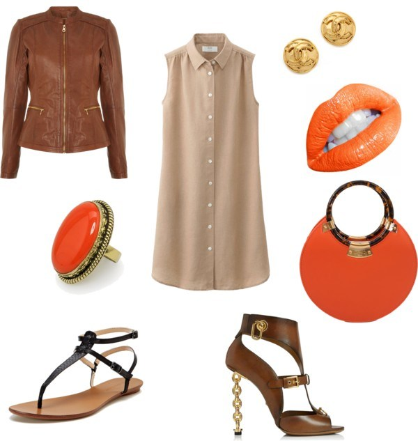 The summer dress di annaturcato contenente vintage jewellery