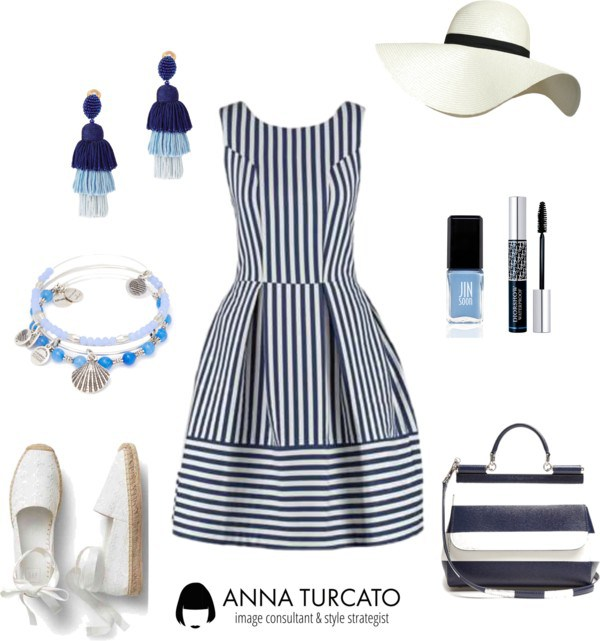 Navy Look di annaturcato contenente Alex and Ani