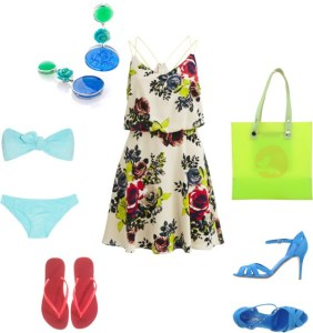 summer look di annaturcato contenente bathing suit swimwear