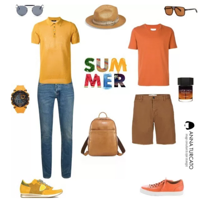 Summer Man by annaturcato featuring a men's grooming