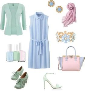 Come indossare Acquamarina di annaturcato contenente Essie