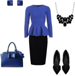 Come indossare il Classic Blue by annaturcato featuring a blue shirt