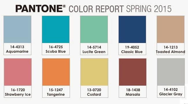 Come abbinare i colori di tendenza per la Primavera Estate (parte prima)