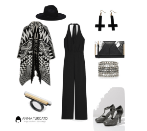 The jumpsuit by annaturcato featuring a bracelet bangle