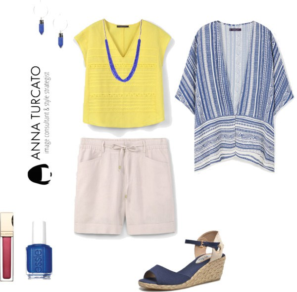 Curvy look di annaturcato contenente short sleeve tops
