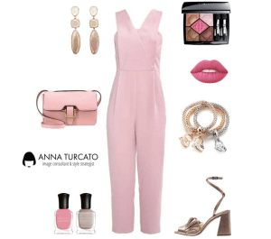 The pink jumpsuit by annaturcato featuring a lime crime lipstick