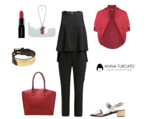 Glam look by annaturcato featuring a red purse