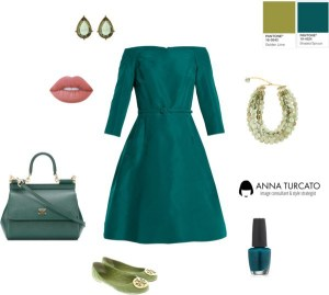 Anna Turcato Shaded Spruce + Golden Lime