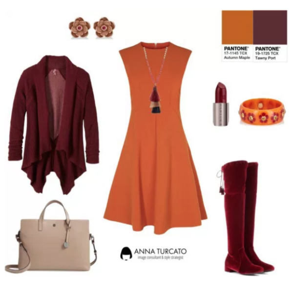 Anna Turcato Tawny Port Autumn Maple
