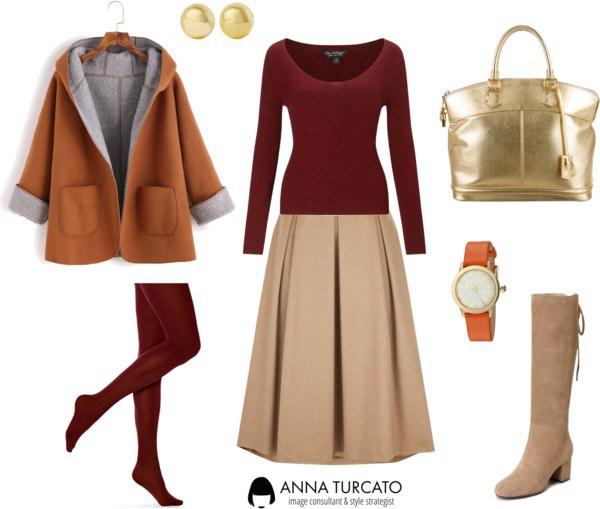 Anna-Turcato-Beige-Skirt-Look