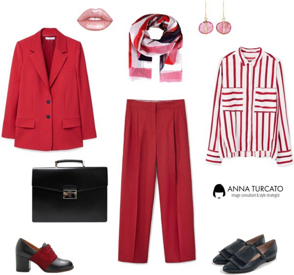 5ab825d028b592 Regalati l'energia del rosso (come indossare e abbinare) • Anna Turcato