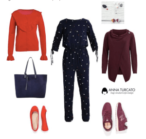 Jumpsuit for winter lady di annaturcato contenente metal jewellery