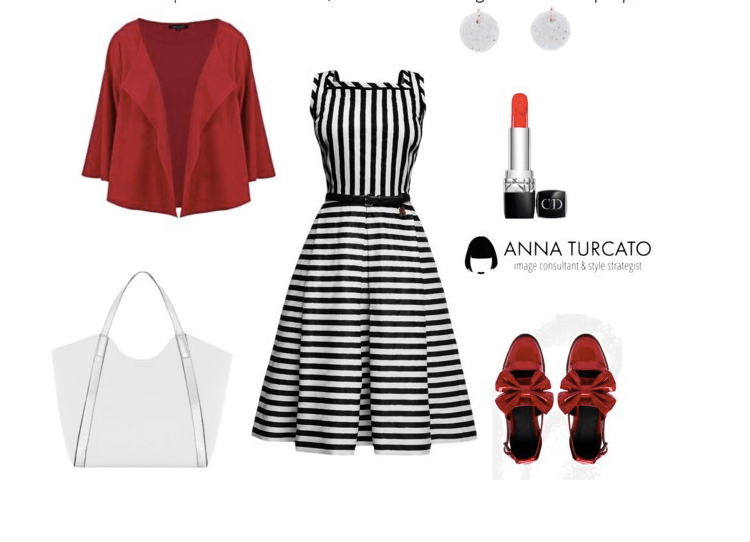 Striped dress di annaturcato contenente striped dresses