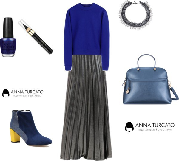 Winter lady di annaturcato contenente Furla