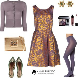 Anna-Turcato-Brocade-Dress