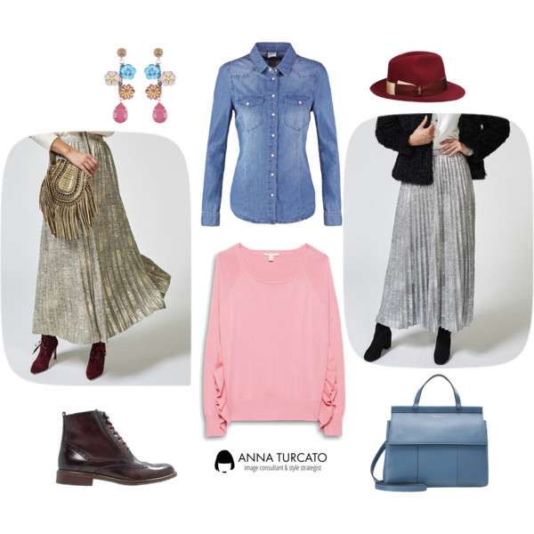 Anna-Turcato-Silver-Gold-Skirt