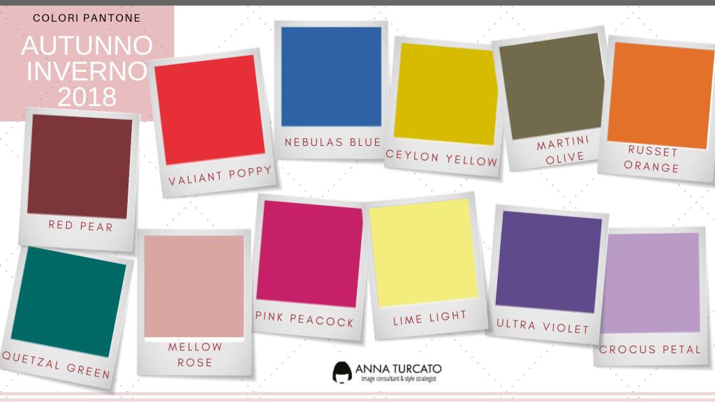 I colori Pantone per il tuo Autunno/Inverno e come abbinarli