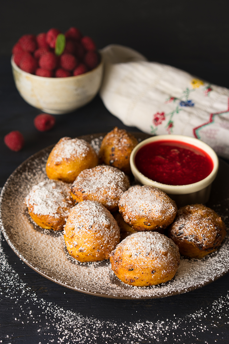 Cottage Cheese Doughnuts