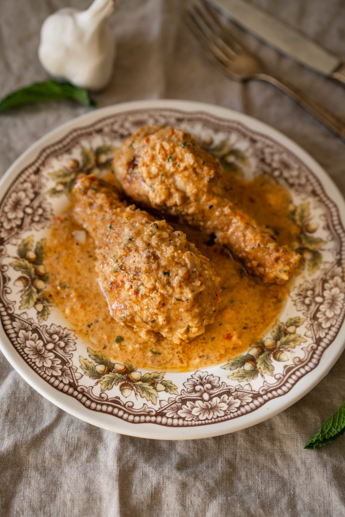 Chicken in Walnut sauce