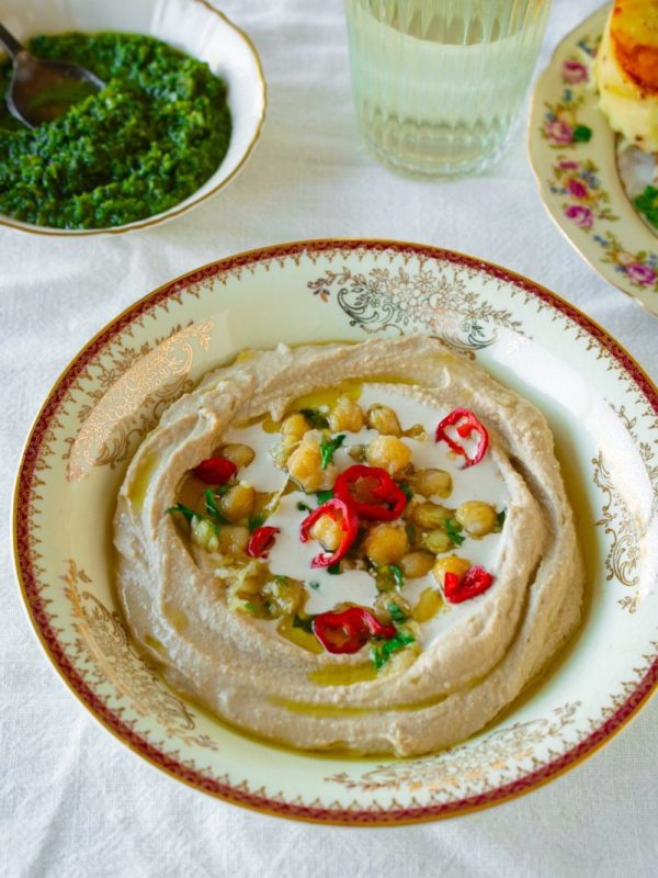 Perfect Hummus from Scratch