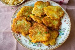 Latke with Brown Butter Sauce