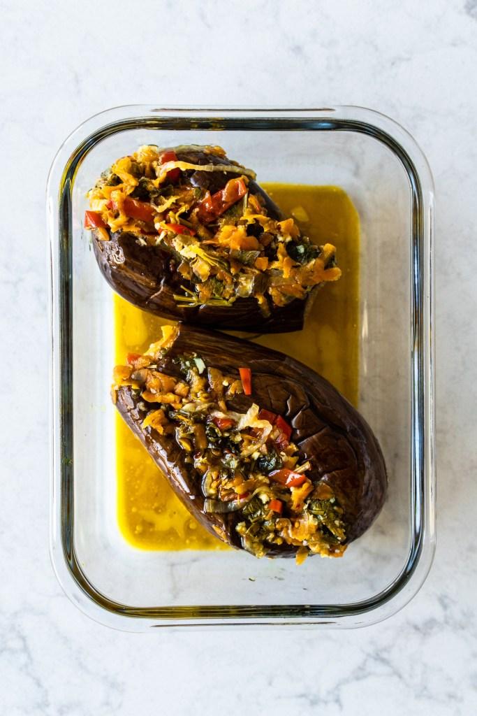 Fermented eggplants