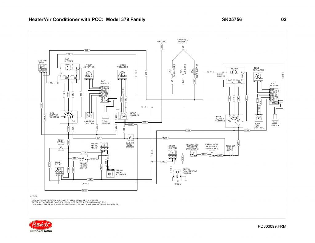 Peterbilt Wiring Diagram Free